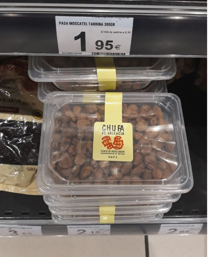 Comprar-chufas-en-Carrefour