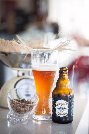 Cerveza de chufa Cambra.
