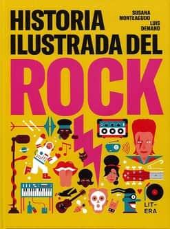 historia ilustrada del rock luis demano