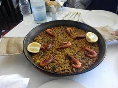 creu conca donde comer paella en valencia